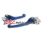 2001-2008 Suzuki RM125 Moto Blue Brake And Clutch Levers