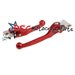 Kawasaki KX250 2000-2007 Motocross Red Brake And Clutch Levers
